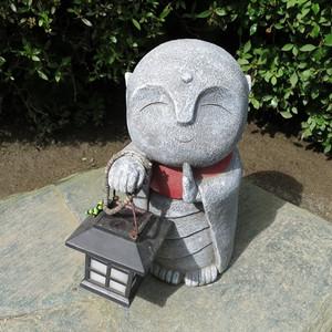 北鎌倉 明月院 優しいお顔のお地蔵さま 写真