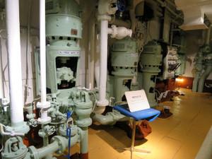 氷川丸-機関室の風景(3)