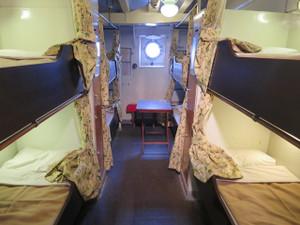 氷川丸-二等船室(2)